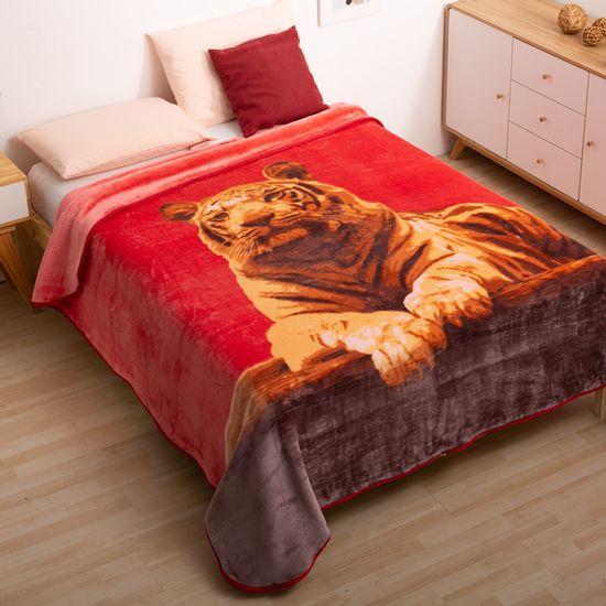 Frazada-Doble-p-tigre-rojo